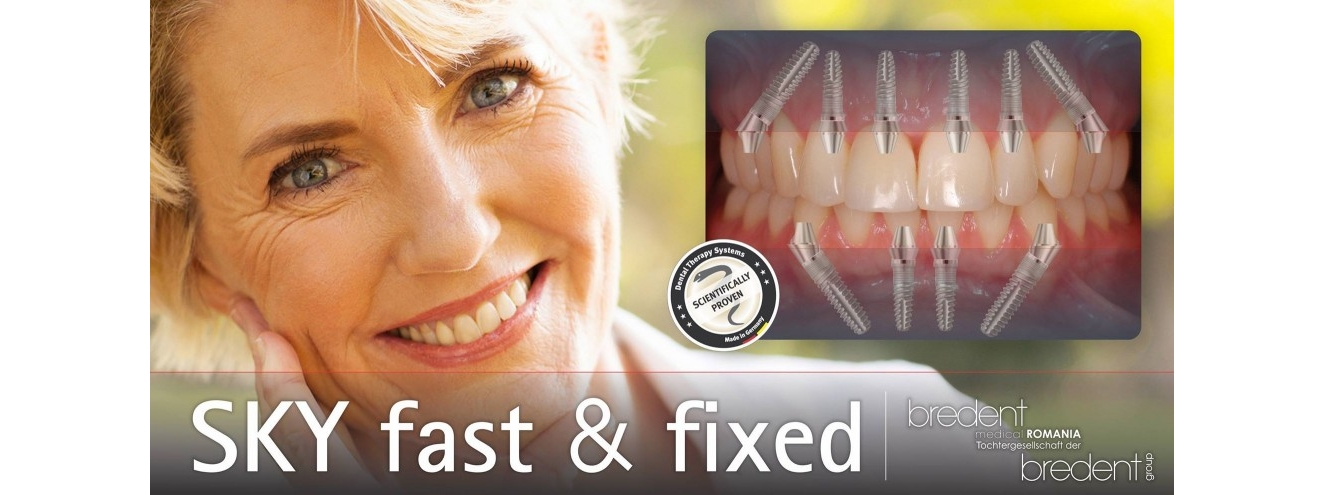 Dinti Implant dentar intr-o zi Fast and Fixed Bucuresti
